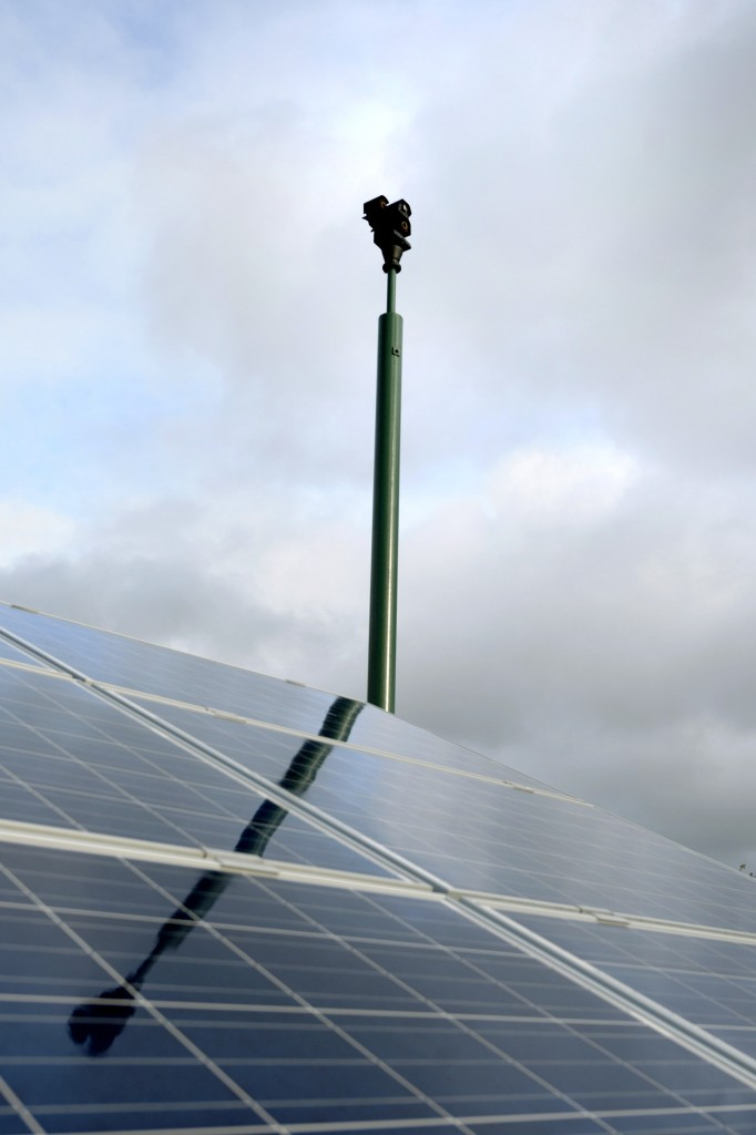ACEDA Provides a Secure Solution for the UK's Biggest Solar Farm 437