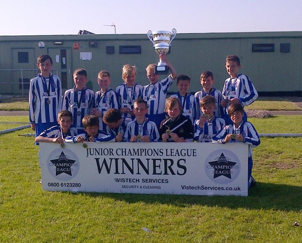 ACEDA Junior Football Team Win Junior Champions League 699