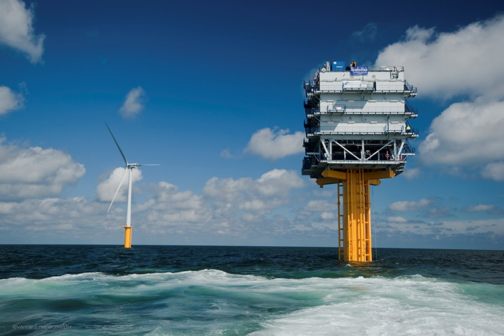 Works completed on a major German offshore wind facility 732