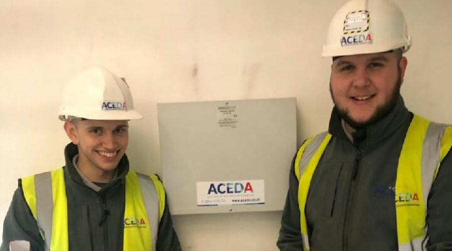 ACEDA provide valuable opportunities for two new skilled Apprentices 1901