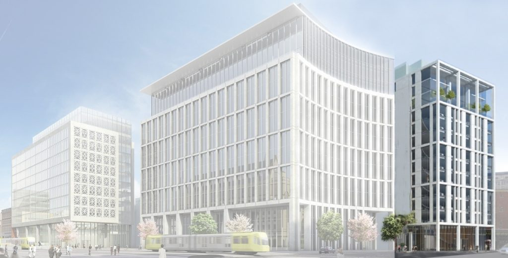 ACEDA start work at a £100m prime office building in Manchester 1936