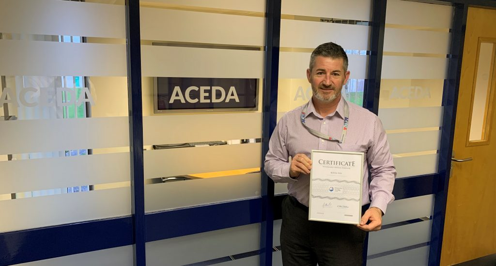 ACEDA become WinGuard System Partner with Advancis 3377