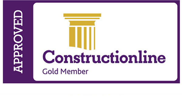 Constructionline Gold Accreditation achieved 3394