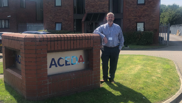 Aceda is delighted to welcome on board another recruit 3508
